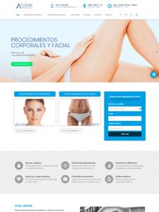 sitio y publicidad digital para el Dr. Jorge Afanador