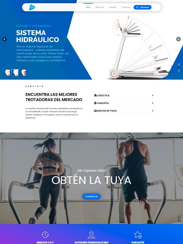 Desarrolo de paginas web Optimizadas - Cliente Iplayfitness