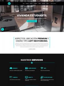Pagina web informativa de SohoHouse - Realizadas por Expertos en marketing